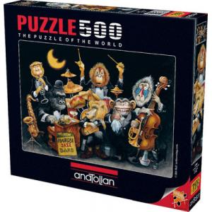 Anatolian The New Nairobi Jazz Band - 500 Parça Puzzle