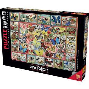Anatolian-Puzzle 1000 Kelebekler Lots Of Butterflies