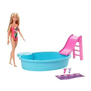 Barbie ve Eğlenceli Havuzu GHL91