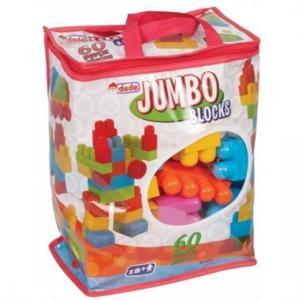 DEDE JUMBO BLOCKS 60 PARÇA LEGO 01025