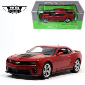1:24 WELLY KIRMIZI RENK CHEVROLET CAMARO ZL1