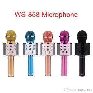 Şarjlı Karaoke Mikrofon Bluetooth Speaker Hoparlör