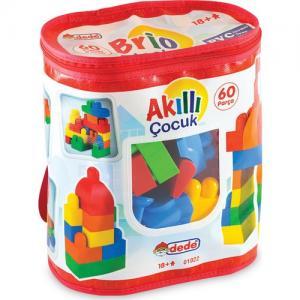 DEDE 01022 Akıllı Çocuk 60 Parça LEGO