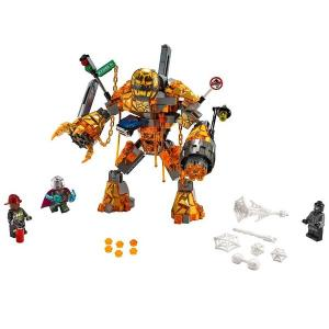 Lego Marvel Spider Man Molten Man Savaşı 76128