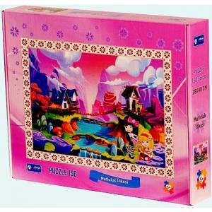 Mutluluk Ülkesi 150 Parça Puzzle-Adam Games