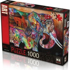 KS Games African Patchwork 1000 parça