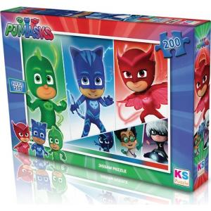 KS Games Pjmasks puzzle 200