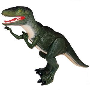 Sesli ve Işıklı Büyük Dinozor - Yeşil
