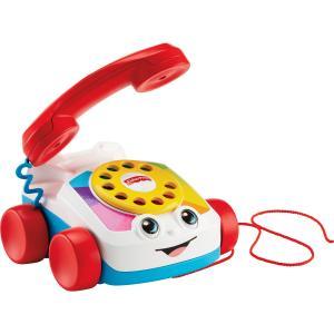 Fisher Price Eğitici Geveze Telefon, Sürüklenebilir, Klasik, Çevirmeli Oyun Telefonu FGW66