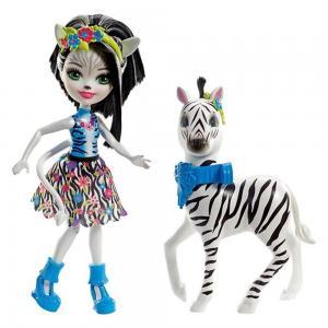 Enchantimals Bebekleri Ve Hayvan Arkadaşları FKY75- Zelena Zebra