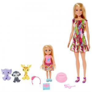 GTM82 Barbie ve Chelsea Doğum Günü Oyun Seti / Barbie-Chelsea Kayıp Doğum Günü