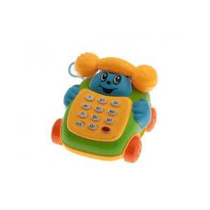 2 Adet Birden MÜZİKLİ TELEFON MERHABA ARKADAŞIM 8 CM SESLİ IŞIKLI