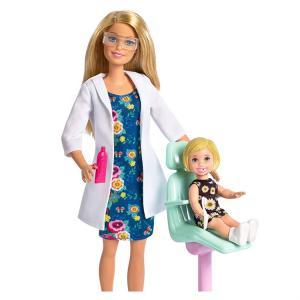 ORİJİNAL Barbie Ben Büyüyünce Oyun Seti DOKTOR BARBİE FXP16