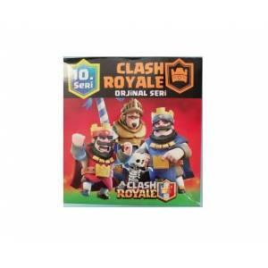 Clash Royale Orjınal Seri 10. Seri Oyun Kartları