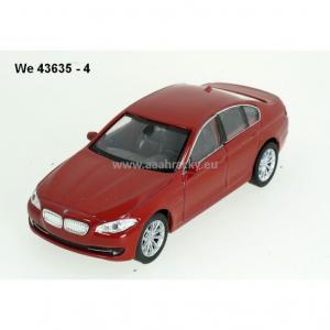1.34 Welly Bmw 535i Metal Çek Bırak Diecast Model Araba