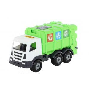 Polesie Geri Dönüşüm Çöp Kamyonu 40 cm Yeşil