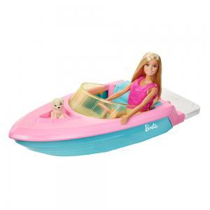 Barbie Bebek ve Teknesi Oyun Seti GRG30