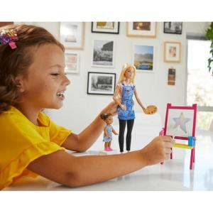 Barbie Ben Büyüyünce Resim Öğretmeni Oyun Seti Dhb63 - GJM29