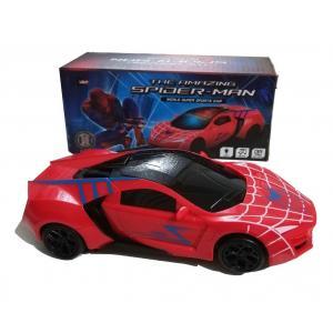 Sesli Işıklı Hareketli Örümcek Adam Arabası Spider Car