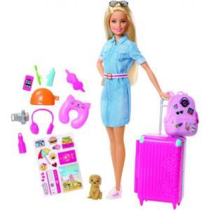 Barbie Seyahat Bebek Fwv25