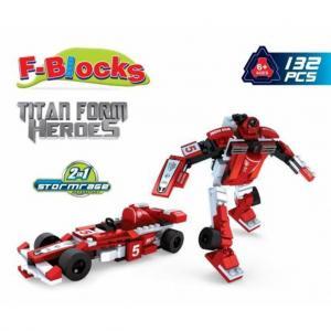 F-Blocks Heroes Seri 132 Parça 25423 2 IN 1