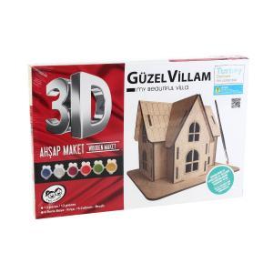 KumToys 3D Maket Güzel Villam