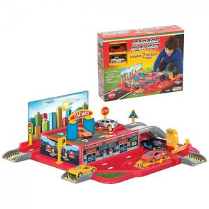 Fen Toys 03066 1 Katlı Garaj Oyun Seti