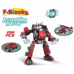 F-blocks Master Seri 286 Parça 3 IN 1