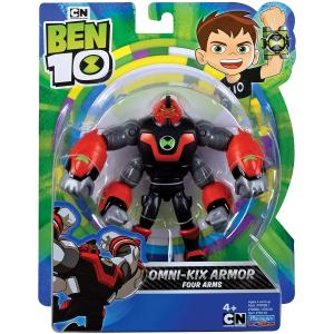 Ben 10 Omni Kix Armor Four Arms Action Figure