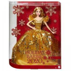 Barbie 2020 Sarışın Mutlu Yıllar Bebeği GHT54