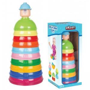 Pilsan Eğitici Renkli Kaplar