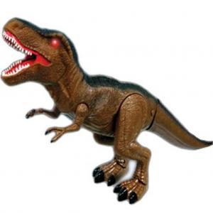 Sesli ve Işıklı Büyük Dinozor - Kahverengi