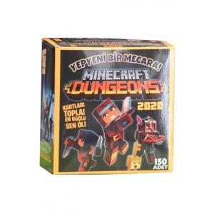 Mınecraft Dungeons Oyun Kartları 150 Adet