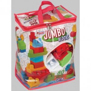 DEDE 01376 80 PARÇA JUMBO LEGO