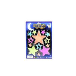 2 ADET BİRDEN Bircan Fosforlu Gece Süsü Yıldızlar