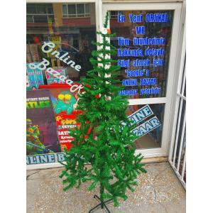 240 Cm Gür Dallı Yılbaşı Ağacı Metal Ayak Metal Gövde Çam Ağacı