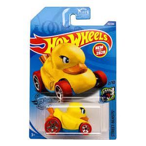 Hotwheels Tekli Araç Ördek 5 cm  Duck N'Roll