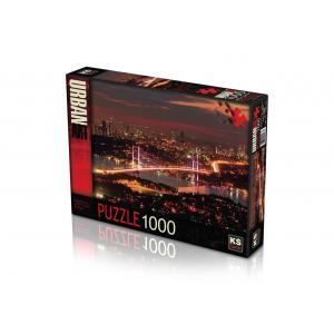 KS GAMES PUZZLE 1000 PARÇA 11288 BOĞAZİÇİNDE IŞIKLARIN DANSI