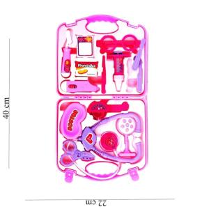 Vakumlu Çantalı 14 Parça Doktor Oyun Seti