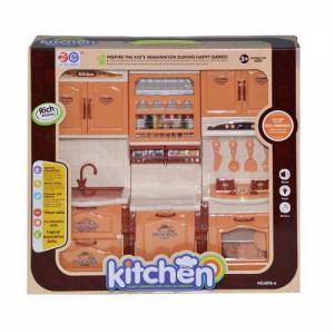 6878-A 3 Lü Mutfak Seti  Kutulu Pilli Sesli Işıklı