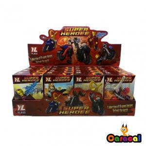 SUPER HEROES KAHRAMANLAR UFAK MİNİ FİGÜR TEKLİ 18 PARÇA