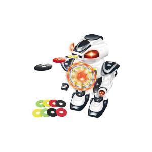 Müzikli Disk Atan Robot Sesli Işıklı 25 CM