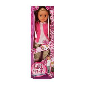 Girl Friends Bebek 80 cm. - Pembe Elbiseli
