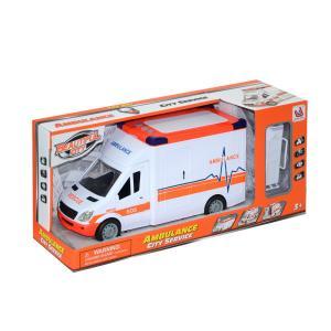 Kutulu Sesli Işıklı Ambulans Sedyeli 26 Cm