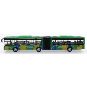 19 cm Çek Bırak Körüklü Otobüs 3 Farklı Renk