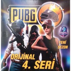 Pubg Oyun Kartları 4.Seri 120 Tane Özel Kutusunda Yeni Sezon