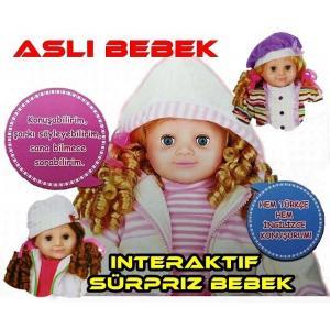 Vardem Aslı İnteraktif Mimikli Türkçe&İngilizce  Bebek