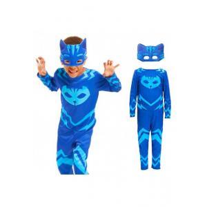Pijamaskeliler Kertenkele - Baykuş kız - Kedi Çocuk Kostüm 7-9 Yaş