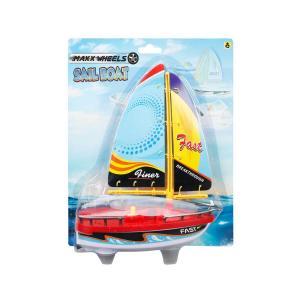 Maxx Wheels Yelkenli  Suda Giden Tekne 21 cm