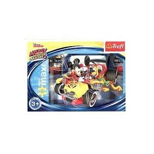20 Parça Mini Puzzle Mıckey And The Roadster Races Cep Puzzle
